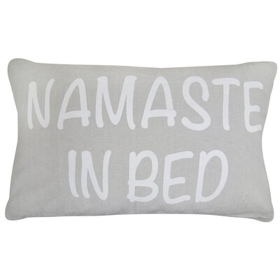 Vintage House Namaste Cotton Lumbar Pillow