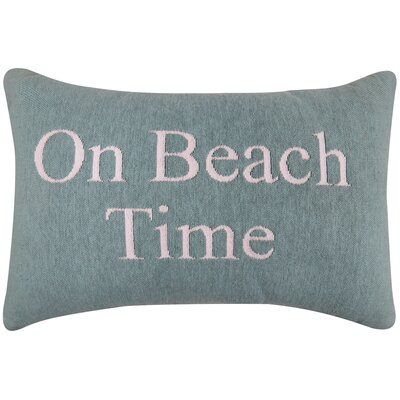 Beach Time Tapestry Decorative Lumbar Pillow