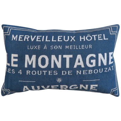 Auvergne Tapestry Decorative Lumbar Pillow