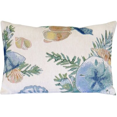 Shell Tapestry Decorative Lumbar Pillow