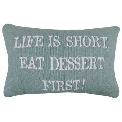 First Dessert Tapestry Decorative Lumbar Pillow
