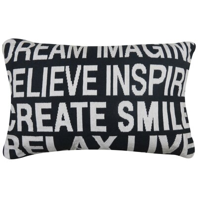 Inspire Tapestry Decorative Lumbar Pillow