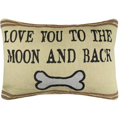 Pet Love You to Moon Tapestry Decorative Lumbar Pillow