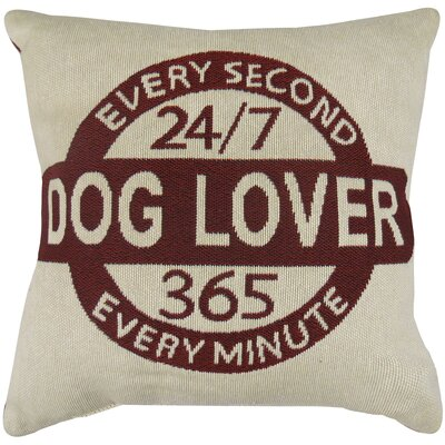 Every Minute Dog Lover Tapestry Decorative Throw Pillow