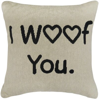 I Woof You Tapestry Decorative Throw Pillow