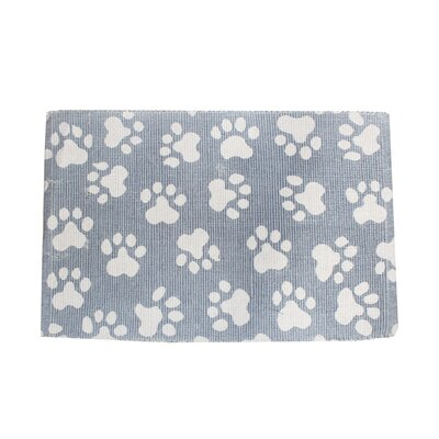 Alberto World Paws Cotton Pet Mat Size: 19 W x 13 D, Color: Celestial Blue