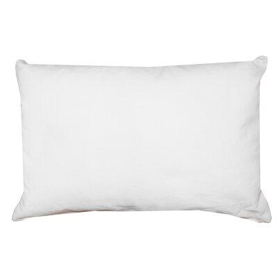 Florentine Indoor Printed Decorative Rectangular 100% Cotton Lumbar Pillow Color: Cream