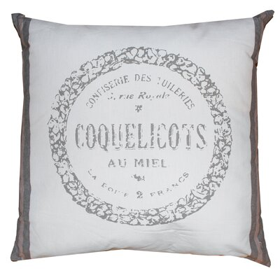Vintage House Coquelicots 100% Cotton Floor Pillow