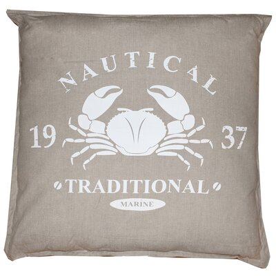 Vintage House Nautical Marine 100% Cotton Floor Pillow