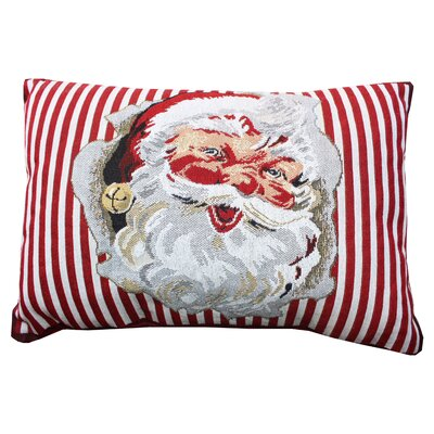 Vintage House Santa Cheer Lumbar Pillow