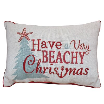Chaffee Beachy Christmas Lumbar Pillow