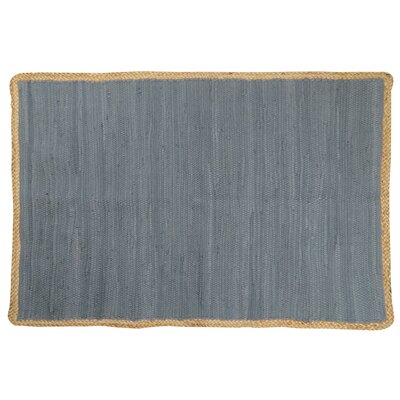 Arbor Lake Hand Woven Cotton Gray Area Rug