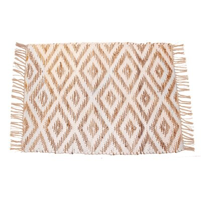 Chesler Hand-Woven Cotton Natural Area Rug