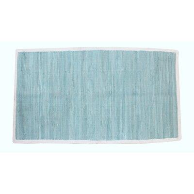 Cordero Hand-Woven Cotton Seaspray Area Rug