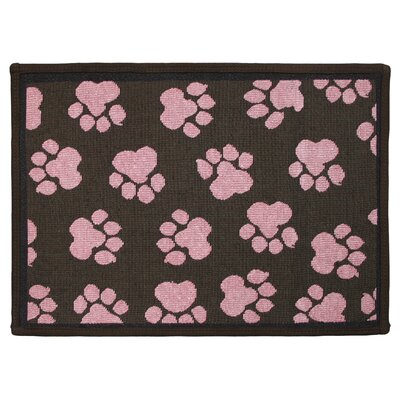 PB Paws & Co. Woodland / Sorbet World Paws Tapestry Area Rug Rug Size: 11 x 17