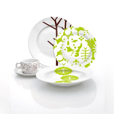 Notneutral-brown Season Cup And Saucer Set