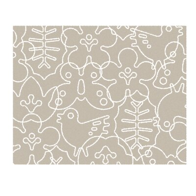 Season Light Sable/White Area Rug Rug Size: 4 x 5