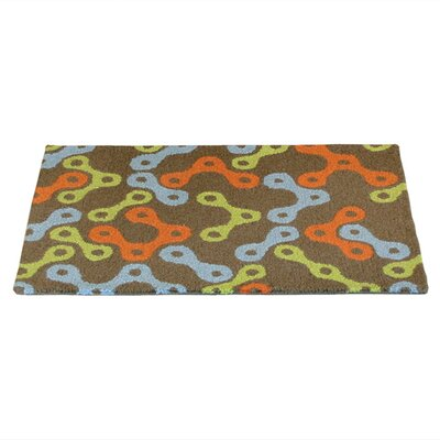 Links Multicolor Rug Rug Size: Rectangle 5 x 8