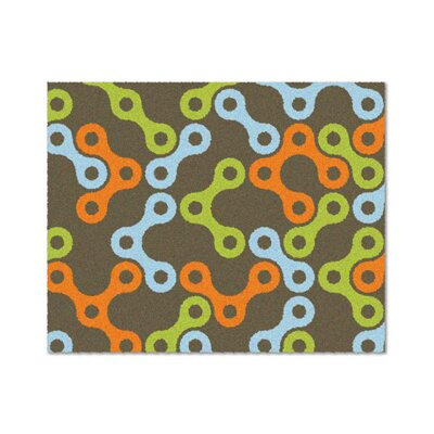 Links Multicolor Rug Rug Size: Rectangle 4 x 5