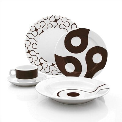 Brown Links Dinnerware Collection-brown Links Spice Dish Set