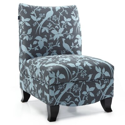 DHI Donovan Bardot Slipper Chair - Color: Teal at Sears.com