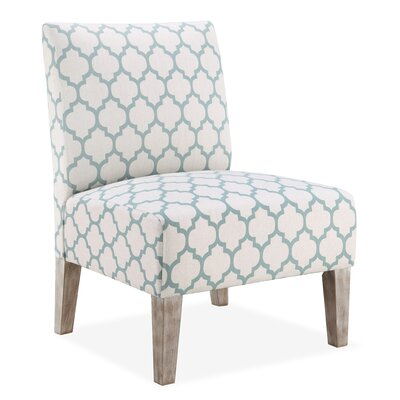 Thaneshia Lattice Slipper Chair