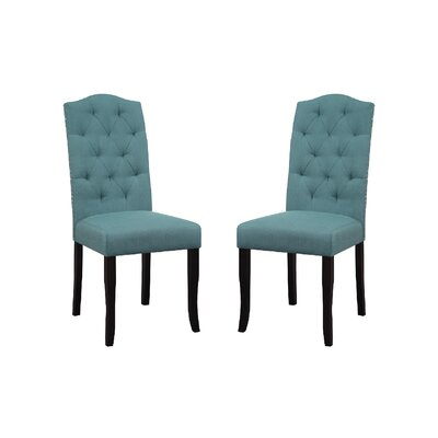 Murray Dining Chair Upholstery Color: Peacock