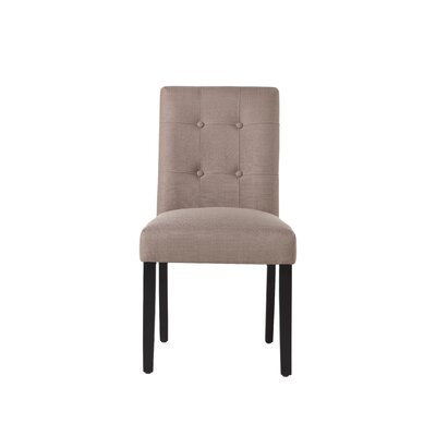 Izetta Side Chair Upholstery Color: Dolphin