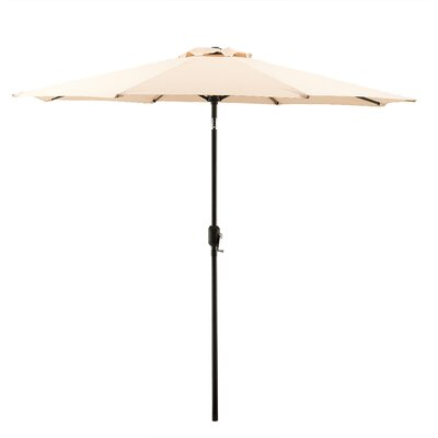 9 Market Umbrella Color: Pebble Stone