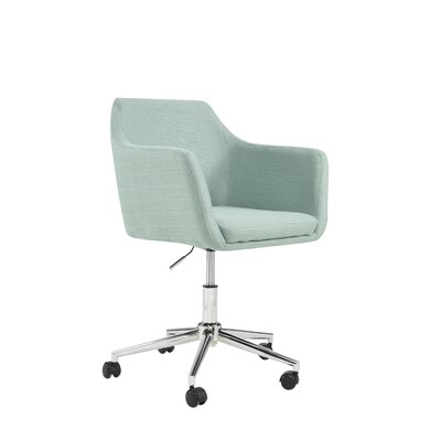 Antle Upholstered Office Chair Color: Laguna