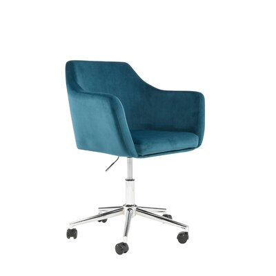 Antle Upholstered Office Chair Color: Mallard