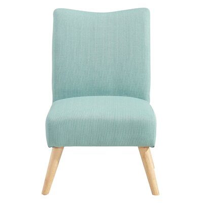 Waldrup Slipper Chair Upholstery: Laguna