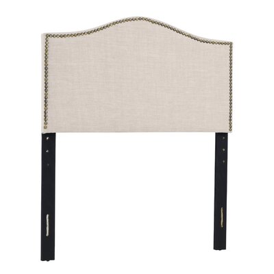 Unger Upholstered Panel Headboard Size: Full/Queen, Upholstery: Beige