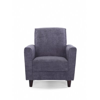 Farnsworth Solid Armchair Upholstery: Steel