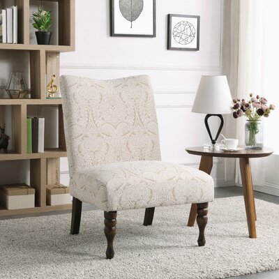 Payton Slipper Chair Color: Paisley Putty