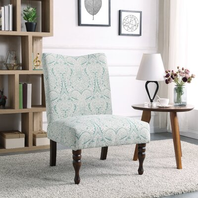 Payton Slipper Chair Color: Paisley Mint