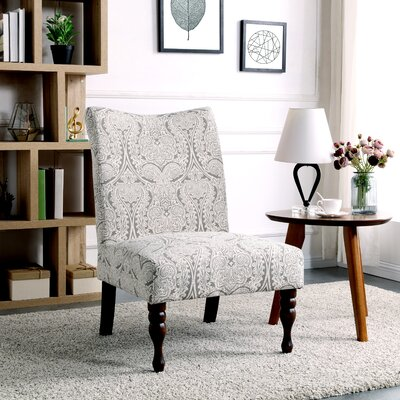 Payton Slipper Chair Color: Paisley Gray