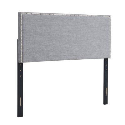 Unger Square Upholstered Headboard Size: Twin, Color: Gray