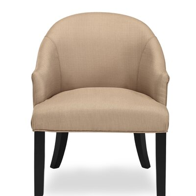 Carranza Barrel Chair Upholstery: Wheat