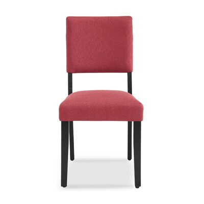 Majoch Upholstered Dining Chair Upholstery Color: Garnet