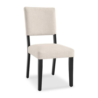 Majoch Upholstered Dining Chair Upholstery Color: Linen