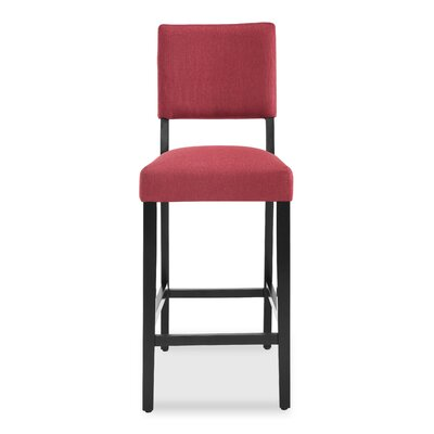 Majoch 30.5 Bar Stool Color: Garnet