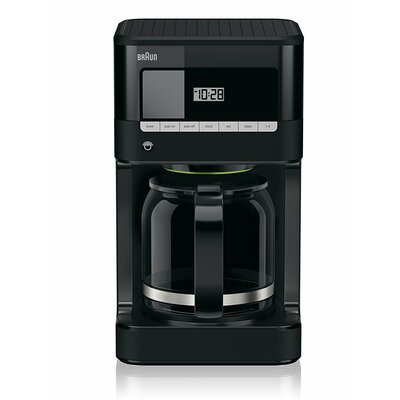 BrewSense 12 Cup Drip Coffee Maker Color: Black KF7000BK