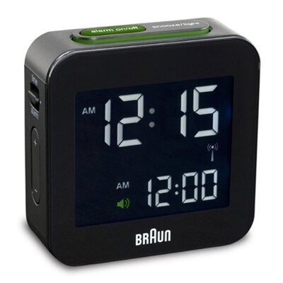 Braun Digital Alarm Clock - Color: Black at Sears.com