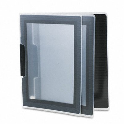 Flexi-View Report Cover Color: Clear / Black