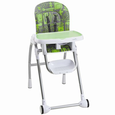 Evenflo Modern High Chair - Color: Apple Green