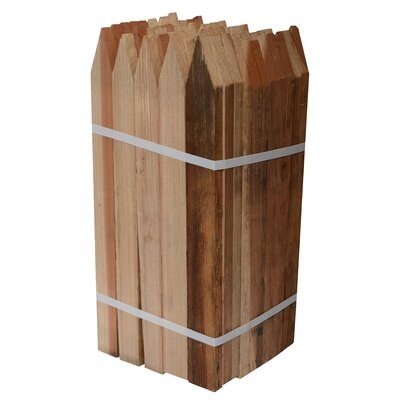 Redwood Tree Stakes (set Of 50) Size: 18""