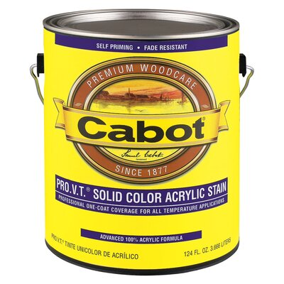 CabotStain 1 Gallon Deep Base Professional Old Virginia Tint Solid Color Stain Acrylic (Set of 4) at Sears.com