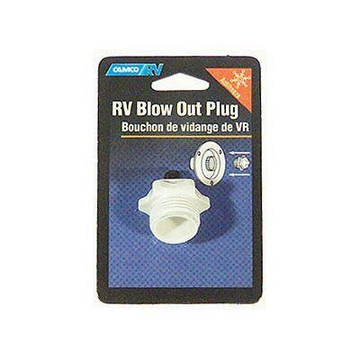 RV Blow Out Plug