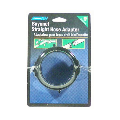 RV Straight Hose Adapter